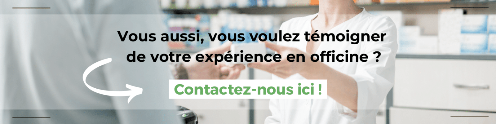 contact témoignage officine etudiant